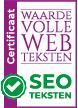 Certificaat Waardevolle Webteksten SEO-teksten