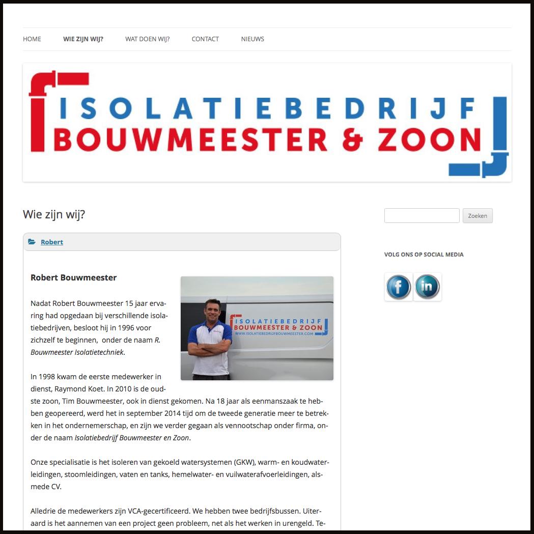 Isolatiebedrijf Bouwmeester Leiderdorp Leiden