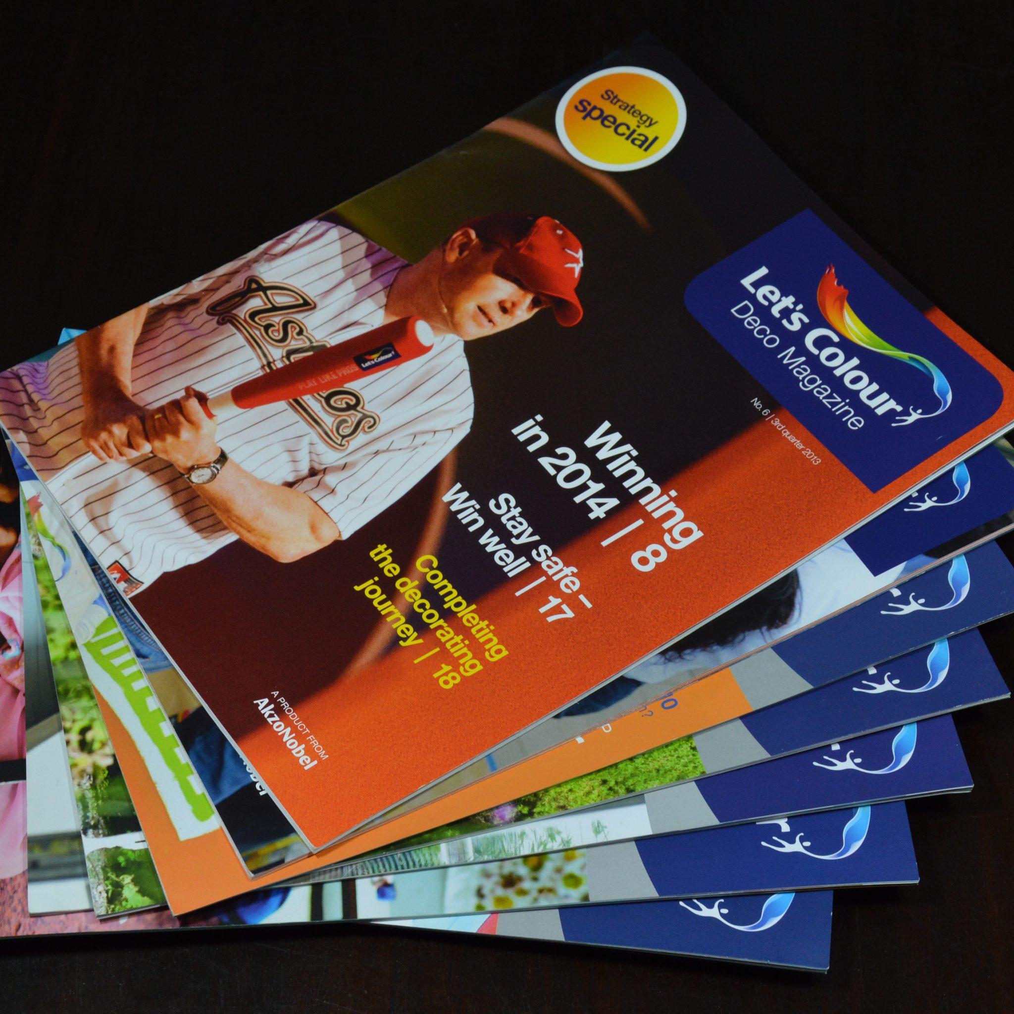 Hoofdredactie; redactie; personeelsblad; management magazine